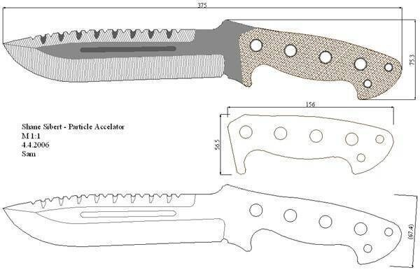 Охотничий ножи своими руками фото чертежи с размерами